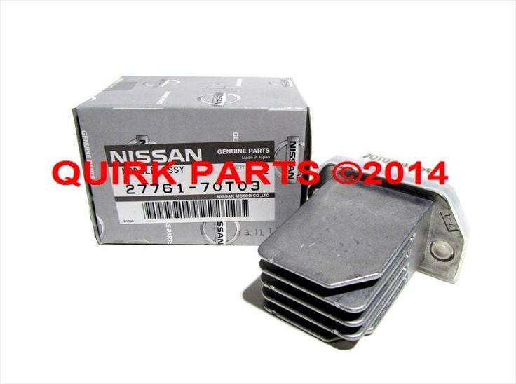 1996-2004 Nissan Pathfinder 1997-1999 Maxima HVAC Blower Motor Resistor OEM NEW #Nissan