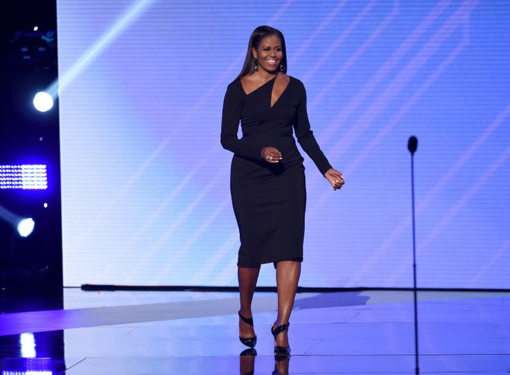 Michelle Obama Had a Simple Reminder for the 53 Percent: 'Any Woman Who Voted Against Hillary Clinton Voted Against Their Own Voice'    Former first lady Michelle Obama, queen of our hearts, took some time out of her schedule to address the Beckys who voted for President Donald Trump while discussing a wide range of topics in Boston on Wednesday at a conference.