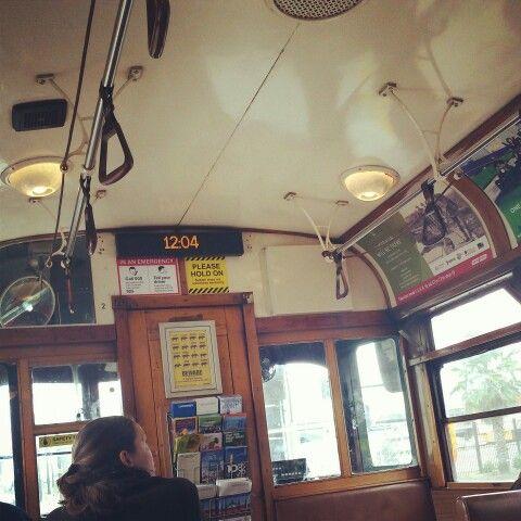 Melbourne City Tram.
