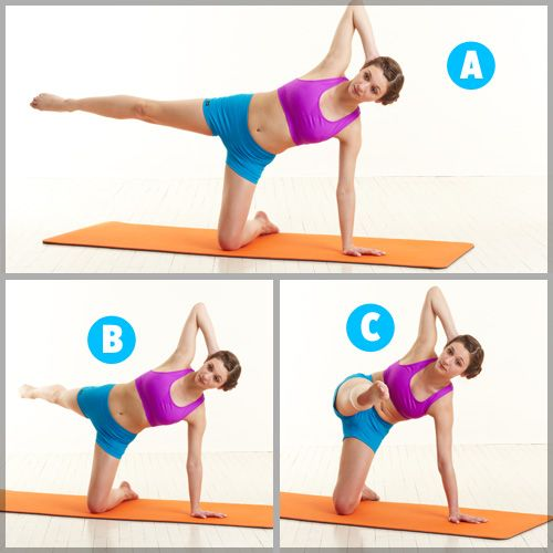 4 Pilates Moves You Need Now