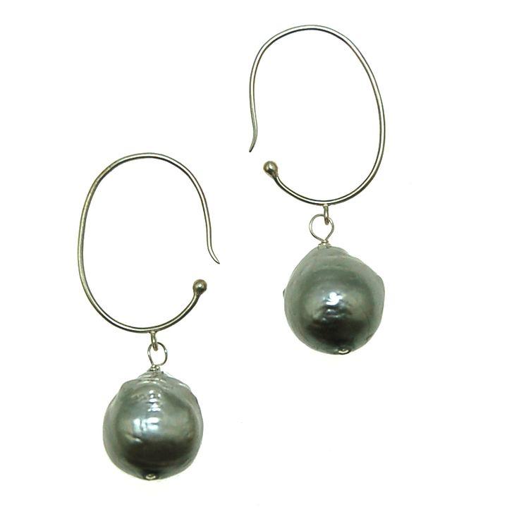Baroque Pearl Earrings (E1943LJ) $50