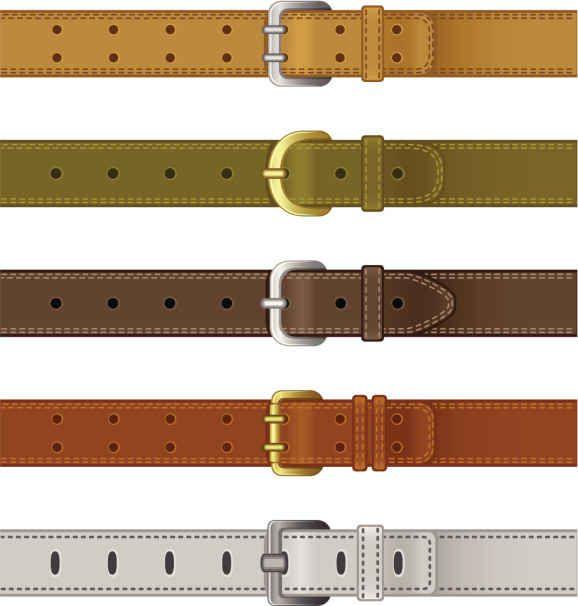 Entre más grande sea la hebilla del cinturón, más informal es el look.