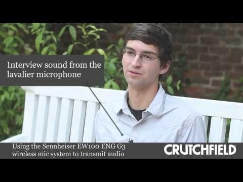 External Microphones Versus On-Board Camera Mics   Crutchfield Video - YouTube #Microphone #Camera #DSL