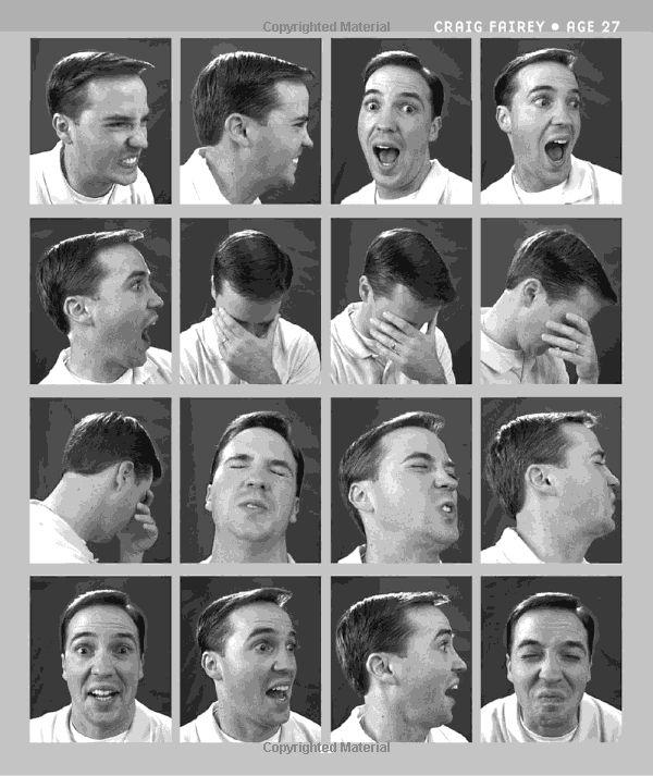 Visual images facial expressions