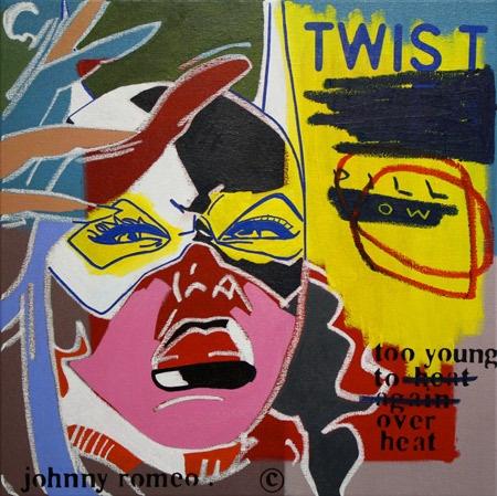 Johnny Romeo    Twist Pillow - 2010