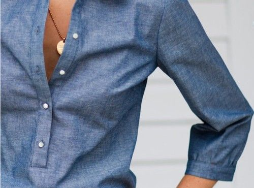 tailored chambray