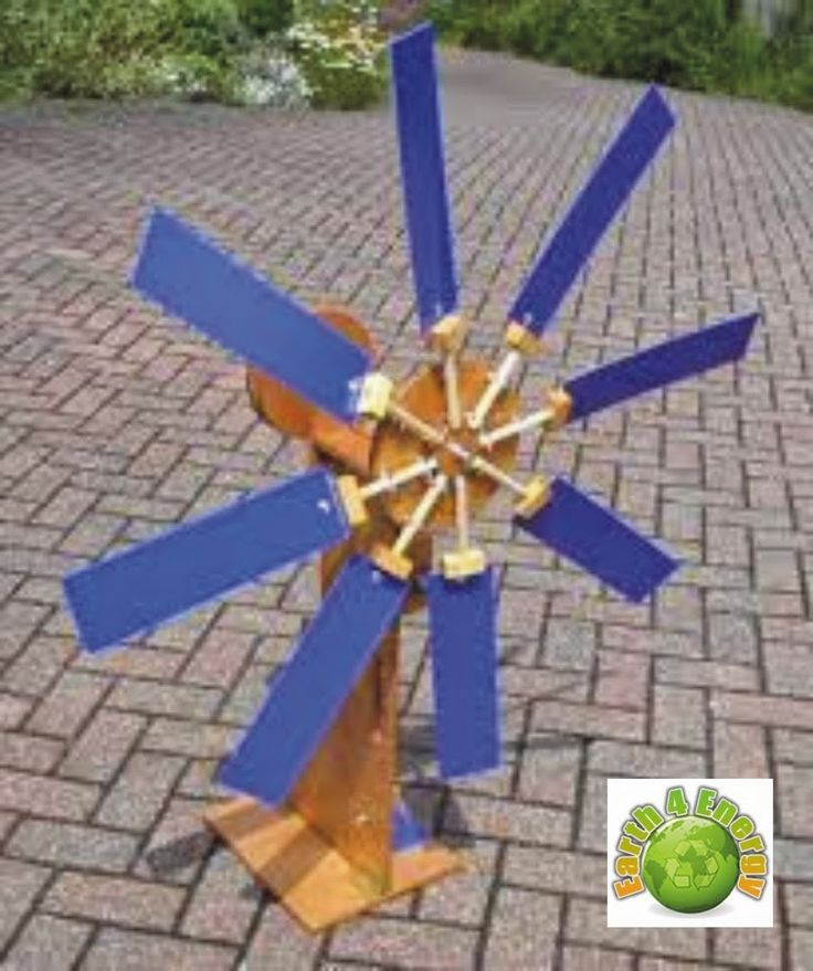 Earth For Energy: Homemade windmill