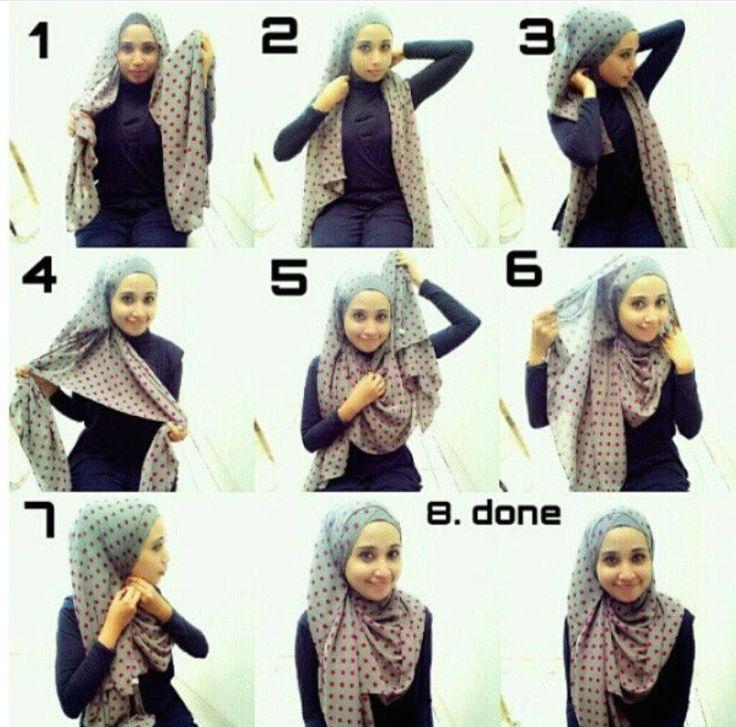 pattern hijab tutorial