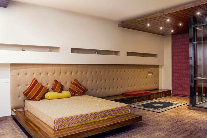 indirekte beleuchtung schlafzimmer wandplatten betonoptik - beleuchtung für schlafzimmer