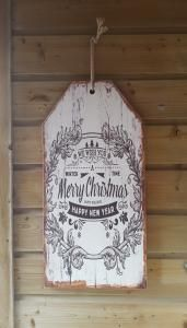Kerst wandbord groot We Wish You - 8438479372412 - Avantius