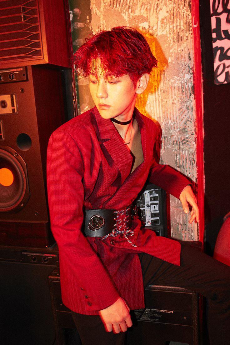 [OFFICIAL] EXO-CBX - Digital Booklet 'Hey Mama!' #BAEKHYUN