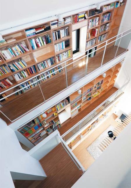 봉일범씨의 파주 '책의 주택'