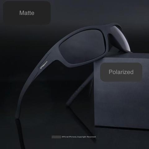 Polarized Anti Glare Sunglasses in Gloss and Matte Frames