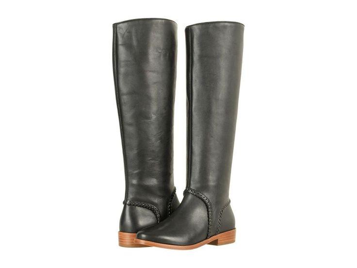 Womens Ugg Gracen Black Whipstitch Boots SIze 8.5 Style 1019086 #UGGAustralia #KneeHighBoots