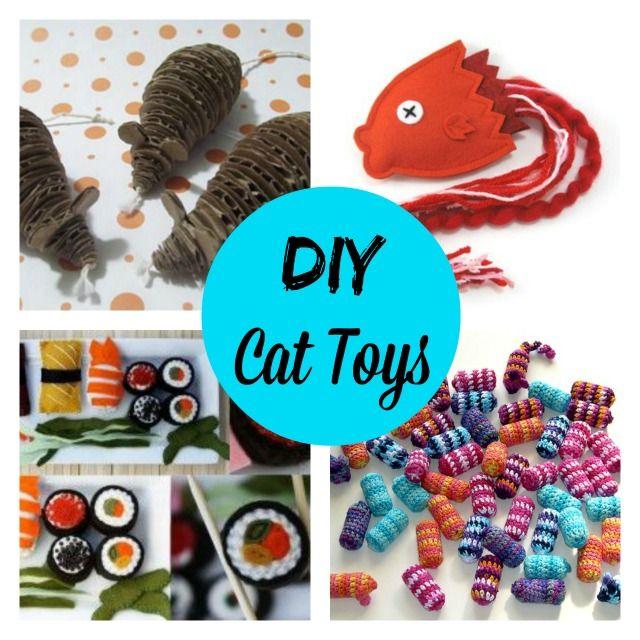Best 25 cat toys ideas on pinterest diy cat toys for Diy easy cat toys