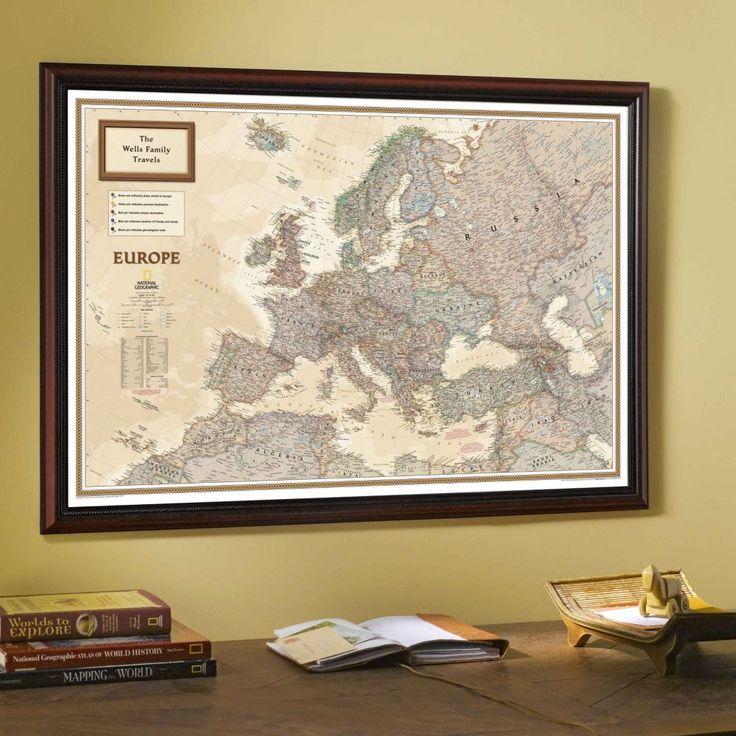 National Geographicu0027s award winning cartography is available as