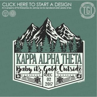 Kappa Alpha Theta | KAT | ΚΑΘ | Fall Festival | Formal | TGI Greek | Greek Apparel | Custom Apparel | Sorority Tee Shirts | Sorority T-shirts | Custom T-Shirts