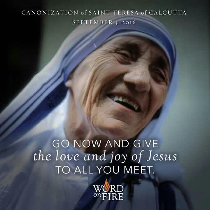 St. Theresa of Calcutta