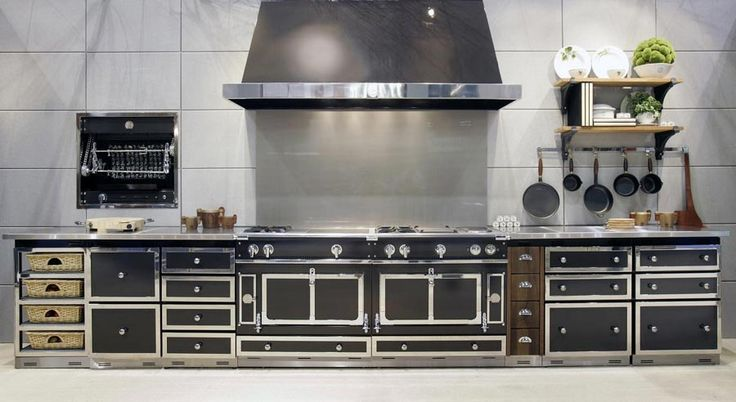 La cornue aga pinterest black stainless steel kitchens and kitchen design - La cornue kitchen designs ...