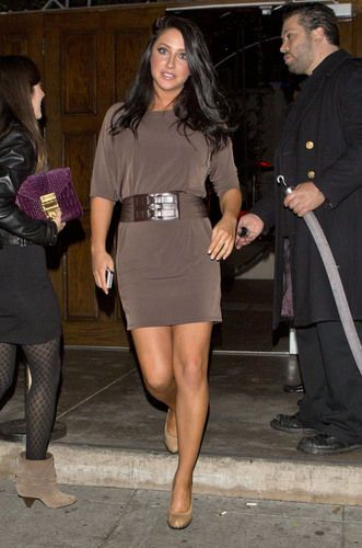 Bristol Palin Wears Mini Dress To Dwts After Party