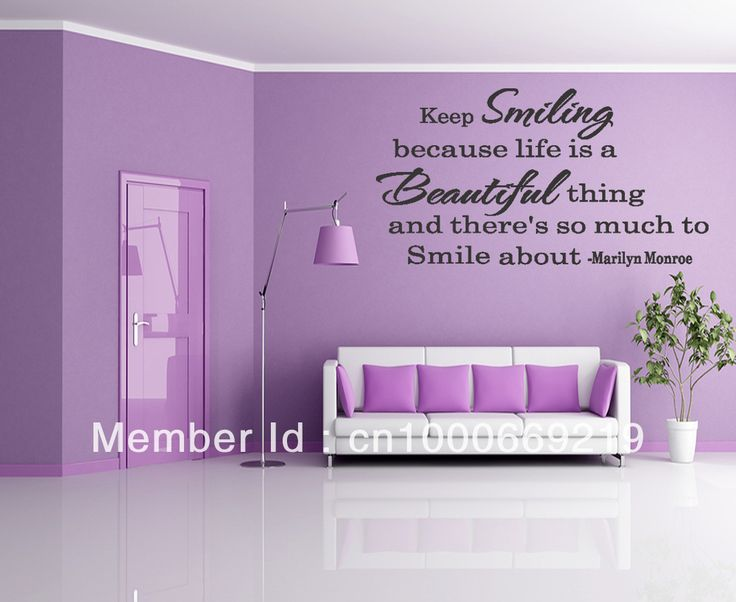 Best Creative Wall Decals Quotes Images On Pinterest Wall - How to put a decal on my wall