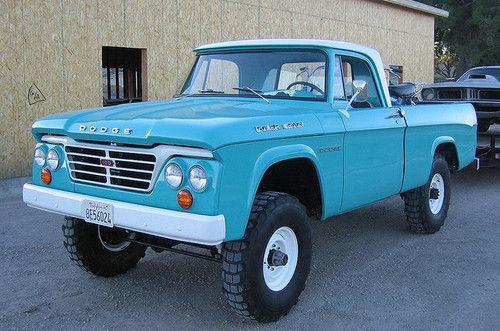1964 W100 Power Wagon. I love old ugly trucks