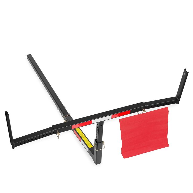 Pick Up Truck Bed Hitch Extender Steel Extension Rack Hauling Lumber Long Loads