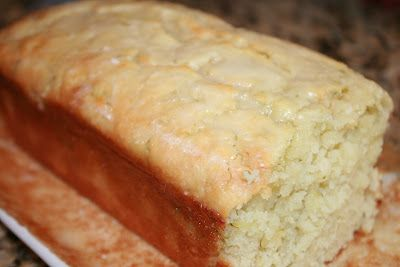 everything to entertain: Lemon Zucchini Loaf with Lemon Glaze