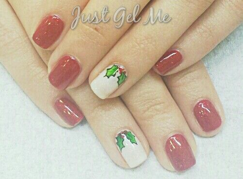 Hand painted holly ♥