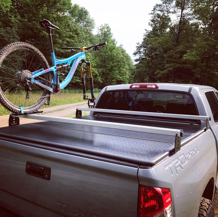 For tonneau cover owners who want to carry their toys over the bed. - Constructed of powder coated stee - Perfect for Roof Top Tents, ski racks, bike racks, and cargo baskets - Works with 2007+ Tundras (TRUCK MUST BE EQUIPPED WITH DECK RAIL SYSTEM) - Each bracket attaches to bed cleat rail with two