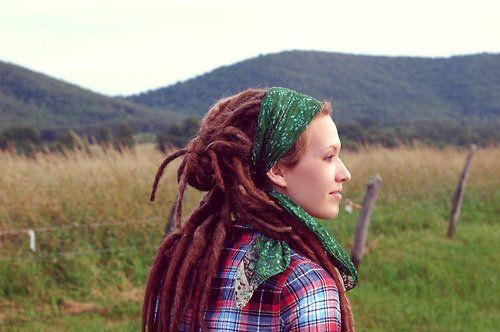 cute, dreadlocks, dreads, girl, hair, nature