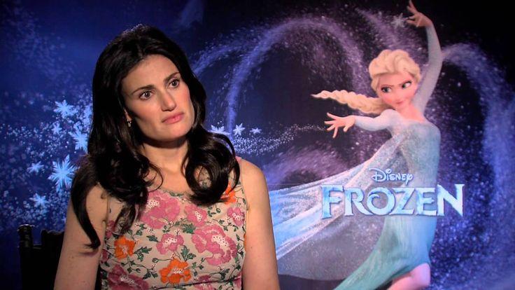 "Frozen: Idina Menzel, voice of ""Elsa"" Official Movie Interview 5:35"