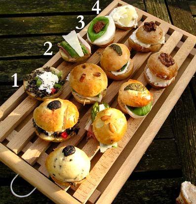 recepten voor hartige Italiaanse Picknickbroodjes, incl. sandwhichrecepten.