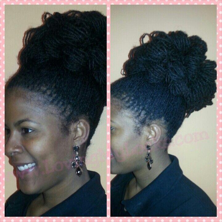 Tremendous 1000 Images About Sisterlocks Hair Styles On Pinterest Short Hairstyles Gunalazisus