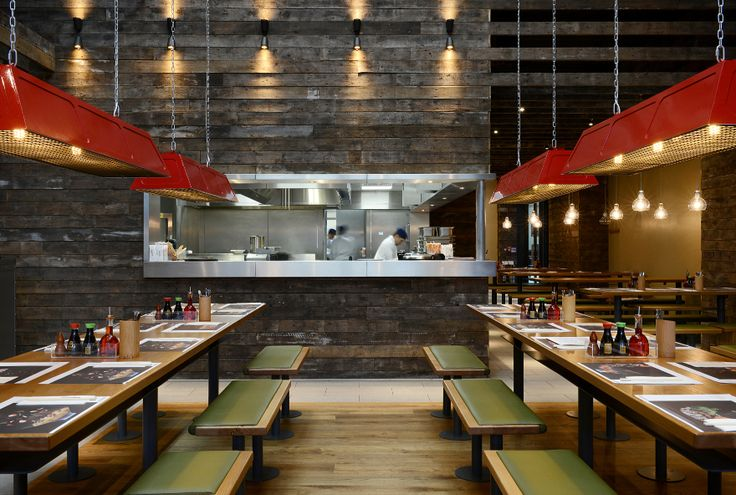 Wagamama (Swindon): Focus Design - Restaurant & Bar Design