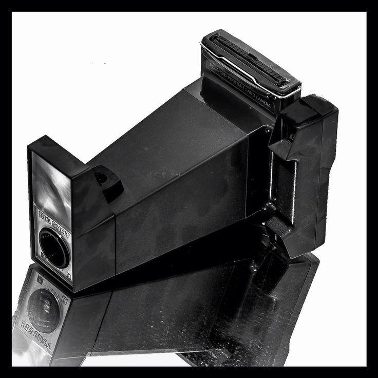 BigShot Polaroid Portrait land camera