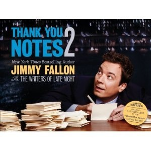 Jimmy Fallon Thank You Notes 2