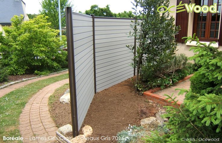 Plus de 1000 id es propos de cl tures ocewood sur pinterest for Amenagement jardin noumea