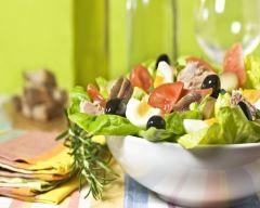 Salade niçoise aux olives : http://www.cuisineaz.com/recettes/salade-nicoise-aux-olives-37561.aspx