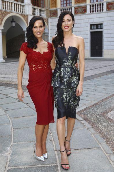 Julie Benz in Rhea Costa and Jaime Murray #MonteCarlo