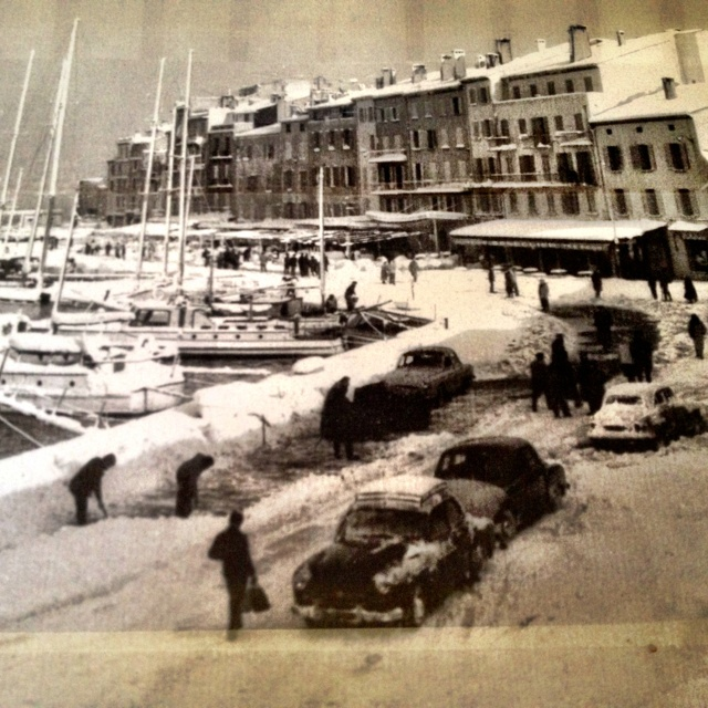 Saint Tropez by winter:))