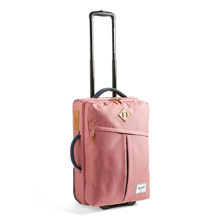 Rank & Style - Herschel Supply Co. 'Campaign' Wheeled Carry-On #rankandstyle Rank & Style - Best Stylish Carry-On Bags #rankandstyle THE BEST CARRY ON BAGS, SO YOU NEVER HAVE TO CHECK YOUR LUGGAGE AGAIN! http://www.rankandstyle.com/top-10-list/best-carry-on-bags/