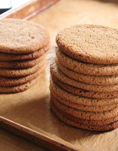 Eat Good 4 Life Best Ever Chewy Ginger Molasses Cookies » Eat Good 4 Life These cookies are way healthier, made with less sugar, olive oil, and whole wheat pastry flour and oat flour. #cookies #healthier #Christmas