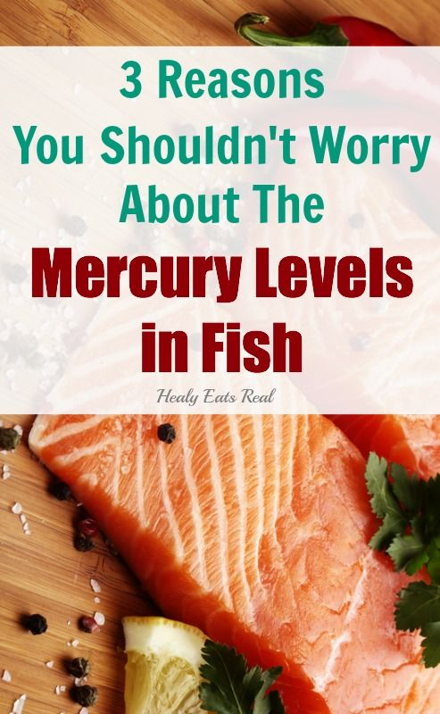 Mercury levels in fish...you hear about it all the time, but I'm not worried about it and I'll explain why in this article.