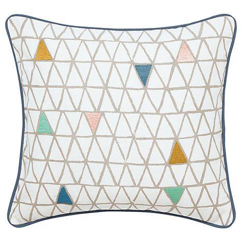 Buy Scion Ratia Cushion, White/Multi Online at johnlewis.com