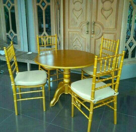 kursi meja makan tiffany