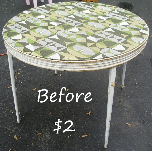Kammys Korner: Sharp Card Table Redo with a Sharp Problem