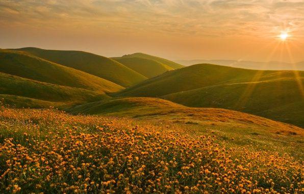 Обои картинки фото сьерра-невада, калифорния, пейзаж