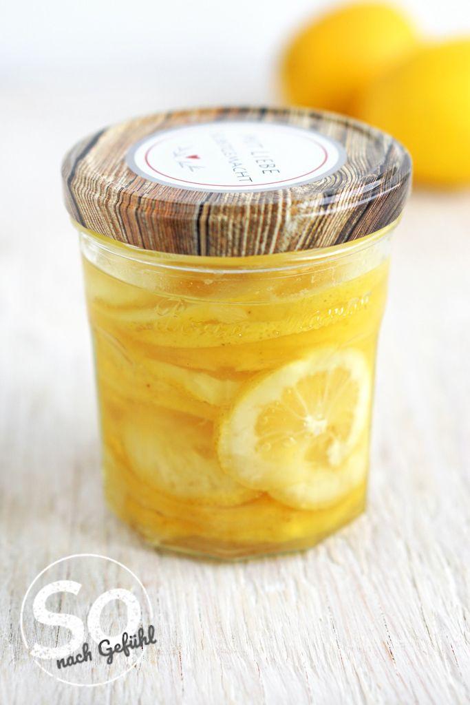 Eingelegte Zitronen schnell gemacht