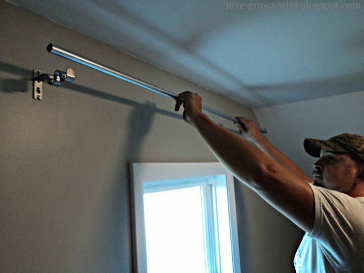 17 Best Images About Diy Curtain Rods On Pinterest Cheap